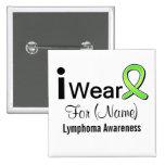Customisable I Wear a Lymphoma Ribbon