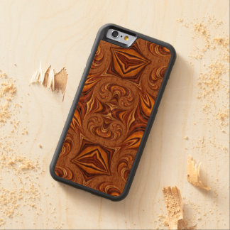 Customisable Iphone6 Wood Case Carved® Cherry iPhone 6 Bumper Case
