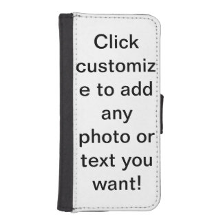 customisable iPhone SE/5/5s wallet case
