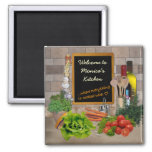 Customisable Kitchen Square Magnet