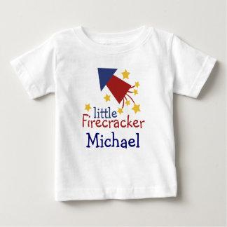 Customisable Little Firecracker kiddie shirt