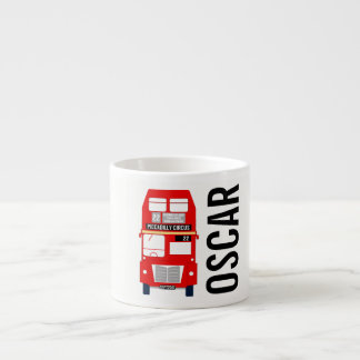Customisable London Bus Espresso Cup