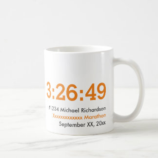 Customisable Marathon Runner Coffee Mug
