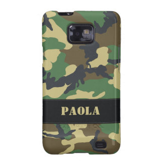 Customisable Military Camo Samsung Galaxy Case