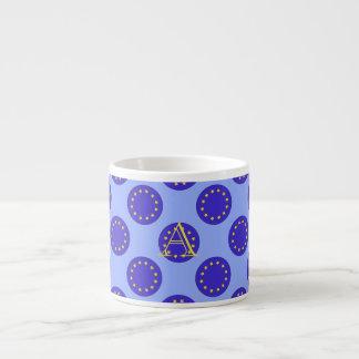Customisable Monogram EU/Brexit Espresso Cup