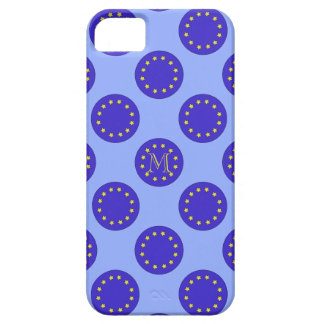Customisable Monogram EU/Brexit iPhone 5/5S Case