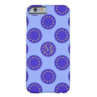 Customisable Monogram Eu/Brexit iPhone 6/6S Case