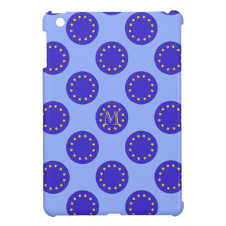 Customisable Monogram Polka EU/Brexit IPad Case