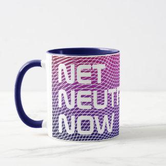 Customisable Net Neutrality Now Mug