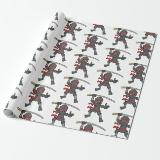 Customisable Ninja Pattern Wrapping Paper