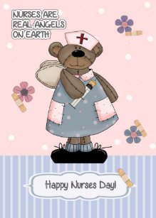 Nurses day greetings gifts on zazzle au customisable nurses day greeting card m4hsunfo
