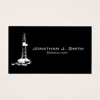 Customisable Oilfield Business Card