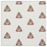 Customisable Poo Emoticon Fabric