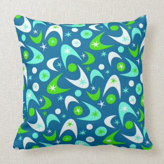 Customisable Retro Boomerangs Cushion