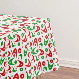 Customisable Retro Boomerangs Tablecloth