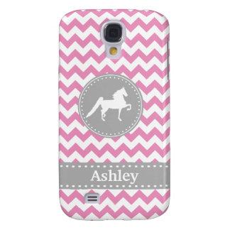 Customisable Saddlebred Pink Galaxy S4 Case