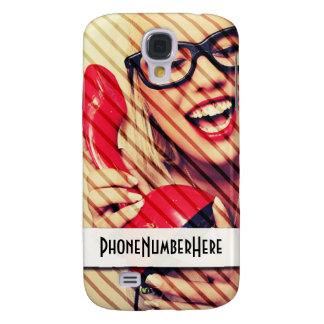 Customisable Samsung Galaxy S4 Phone Number Case Galaxy S4 Cases