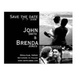 Customisable Save the Date Announcement Postcards