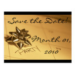 Customisable Save the Date! Postcards