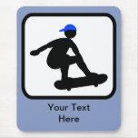 Customisable Skater on Skateboard Logo