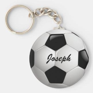 Customisable Soccer Ball Keychain