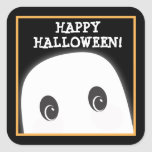 Customisable Spooky Ghost Halloween Sticker