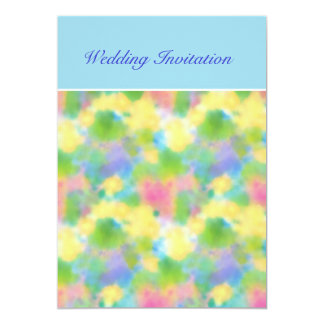 Customisable Spring Sunshine Wedding Invitation