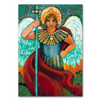 Customisable St. Michael Archangel Prayer Card