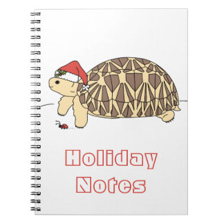 Customisable Star Tortoise Notebook