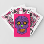 Customisable Sugar Skulls Bicycle Poker Cards