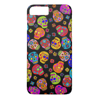 Customisable Sugar Skulls iPhone 8 Plus/7 Plus Case