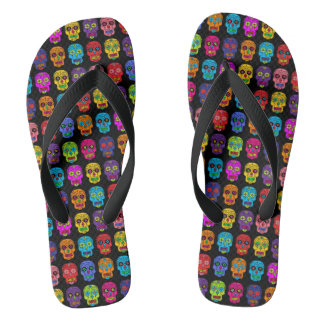 Customisable Sugar Skulls Thongs