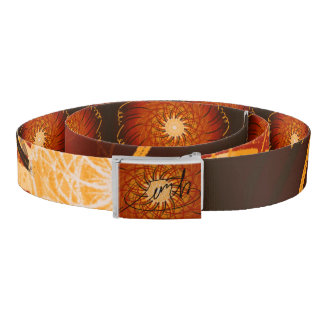 Customisable Sunset (Psychedelic spirograph) Belt