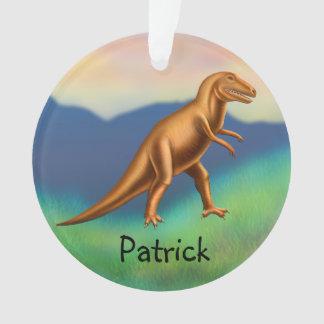 Customisable Tyrannosaurus Rex Dinosaur Ornament