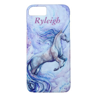 Customisable Watercolor Unicorn Phone Case