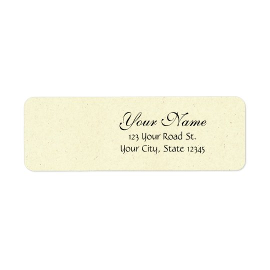 Customisable Wedding Invitation Sets Return Address Label