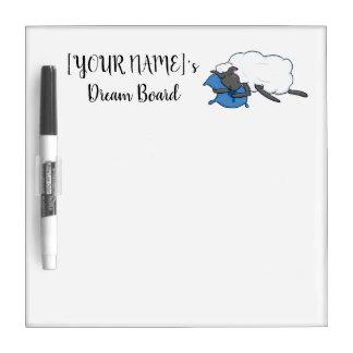 Customisable YOURNAME Sleepy Sheepy Dream Board