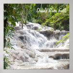 Customise Dunn's River Falls photo Poster