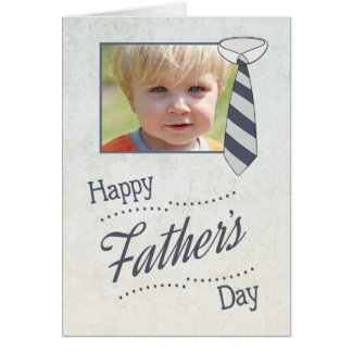 Customise Father's Day with Necktie Greeting Card