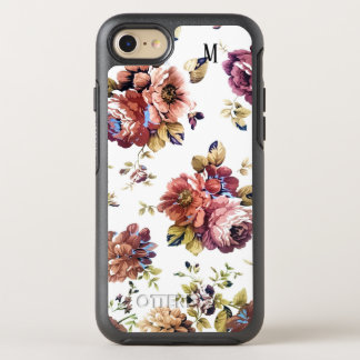 Customise floral art design OtterBox symmetry iPhone 8/7 case