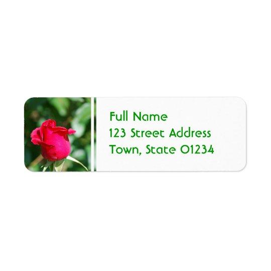 Customise Product Return Address Label