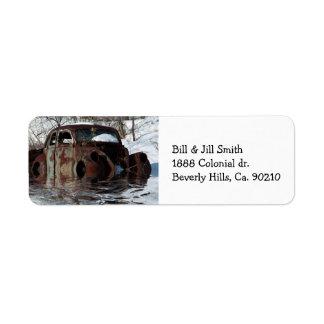 Customise Product Return Address Label