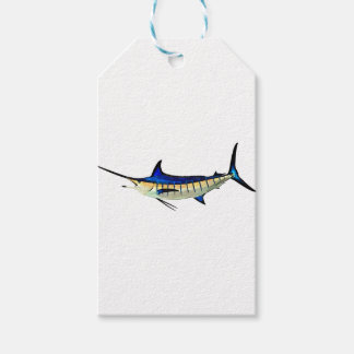 Customise this Marlin with your Boat Name Gift Tags