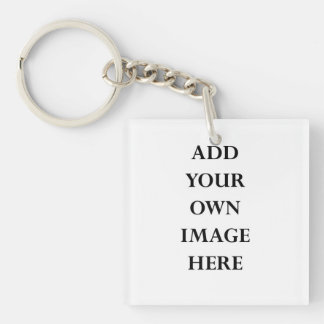 customise your double sided keychain