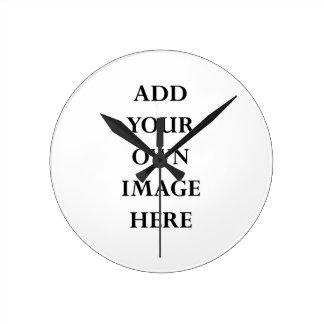 customise your medium round clock