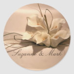 Customise your own calla lily stickers