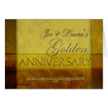 Customise your own Golden Anniversary Greeting Cards