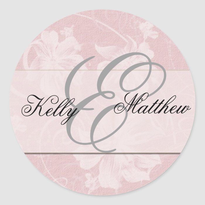 Customise your own wedding stickers