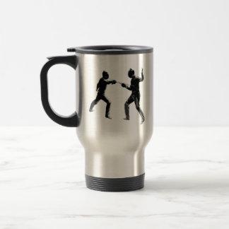 Customiseable Vintage fencing Gifts Travel Mug