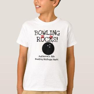 Customised Bowling Birthday T-shirt